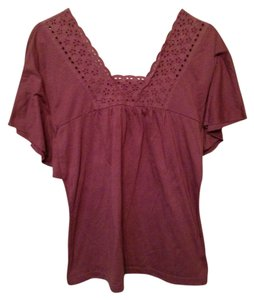 Mossimo Supply Co. Top Purple