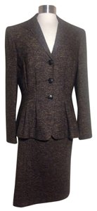 Lafayette 148 New York 3 Button Tweed Jacket Fitted Waist