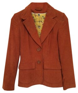 Topshop Dark Orange Blazer