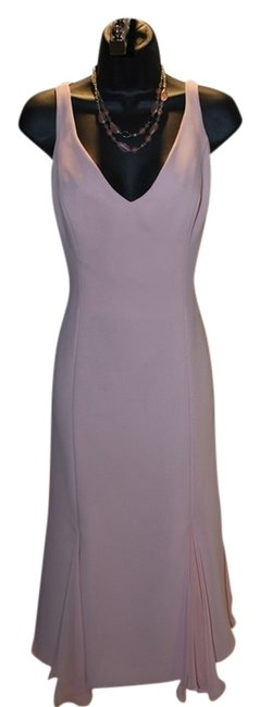Preload https://item1.tradesy.com/images/lazaro-pink-cocktail-formal-occasion-bridesmaid-knee-length-night-out-dress-size-12-l-523765-0-0.jpg?width=400&height=650
