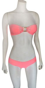 Salt Swimwear Bianca top in coral by Salt Swimwear X The Shop Laguna Collab