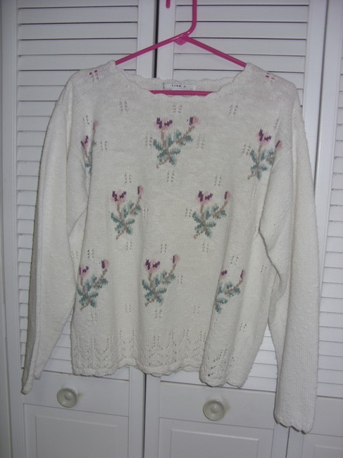 Lise J Scalloped Sweater
