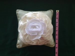 Ring Bearer Pillow 3d Flower