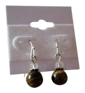 Other Tigers Eye earrings NEW artisan made