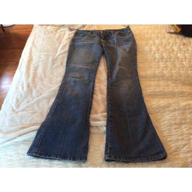 7 For All Mankind Studded Boot Cut Jeans