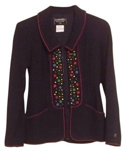 Chanel Navy Blue Blazer