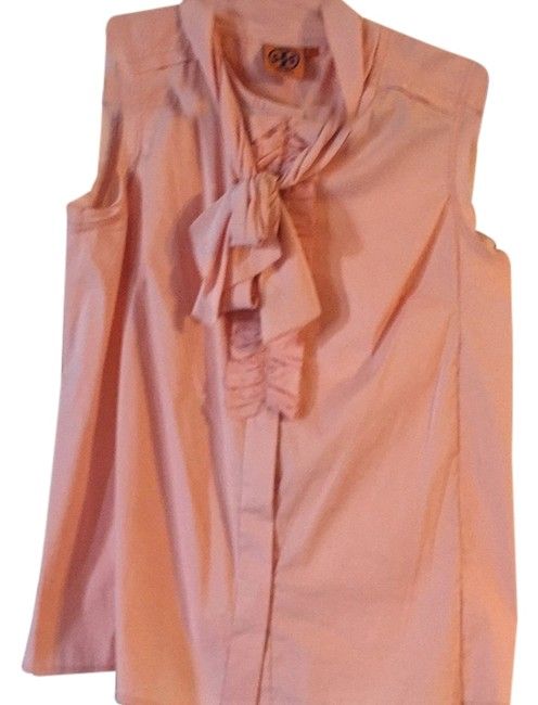 Preload https://item4.tradesy.com/images/tory-burch-peach-blouse-size-10-m-5241598-0-0.jpg?width=400&height=650