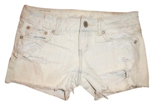American Eagle Outfitters Mini Shorts White, Bleached