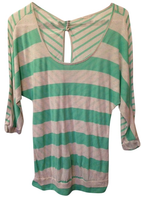 Preload https://item1.tradesy.com/images/trixxi-tunic-beige-and-green-5241955-0-0.jpg?width=400&height=650