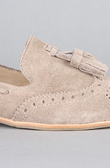 Dolce Vita Suede Leather Taupe Flats