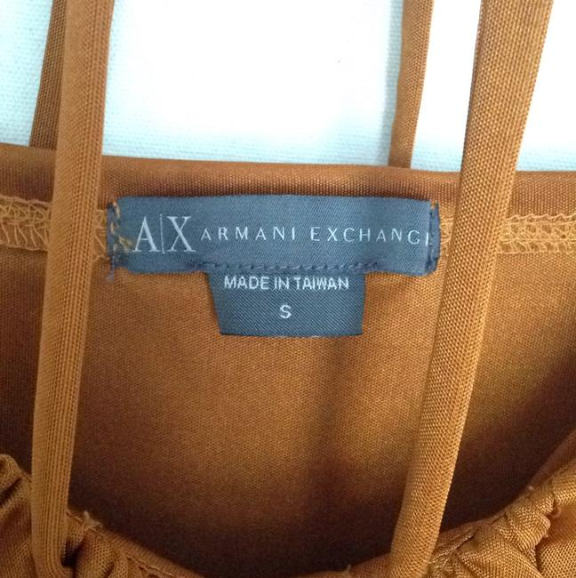 A|X Armani Exchange Top Mustard