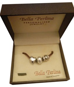 Bella Perlina Heart and Daughter Charms