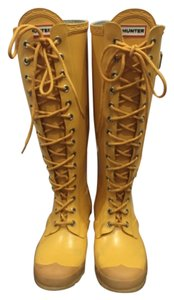 Hunter Yellow Boots