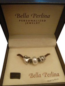 Bella Perlina Heart and Mom Charms