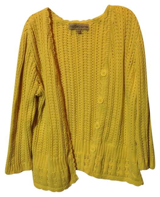 Preload https://item3.tradesy.com/images/notations-yellow-cardigan-size-4-s-524347-0-0.jpg?width=400&height=650