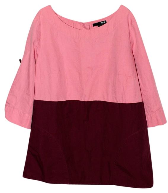 Preload https://item4.tradesy.com/images/h-and-m-coralberry-tunic-size-6-s-524573-0-0.jpg?width=400&height=650