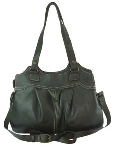 Patricia Nash Designs Napoli Leather Satchel in Hunter Green