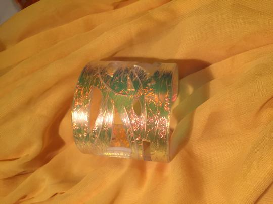 Color by Amber Dichroic Cuff