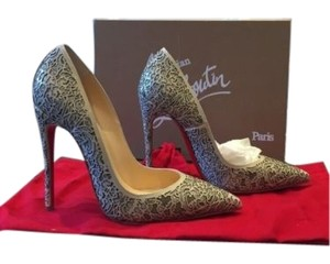 Christian Louboutin Nude So Pretty 120 Beige Pumps