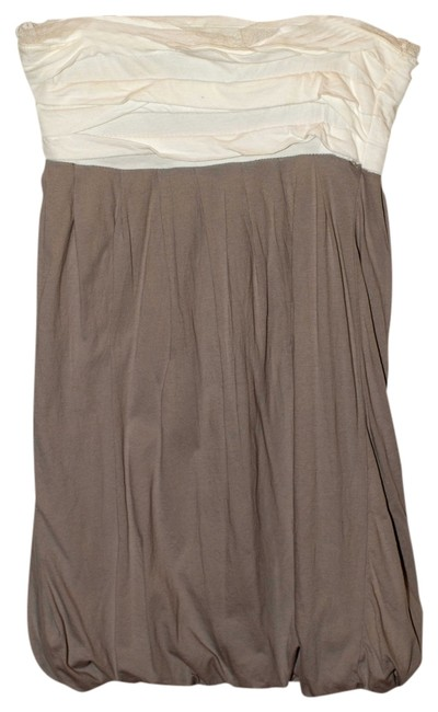 Other short dress Gray/White on Tradesy