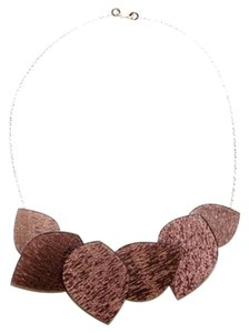 Color by Amber Purple Petal Necklace