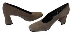 Via Spiga Very Good Condition Leather Soles Size 6.50 M Neutral Pumps