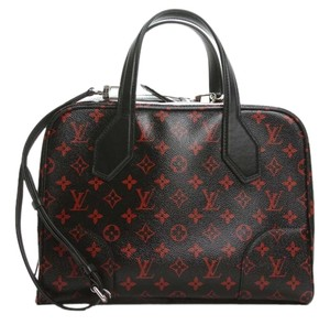 Louis Vuitton Tote in Black and Red