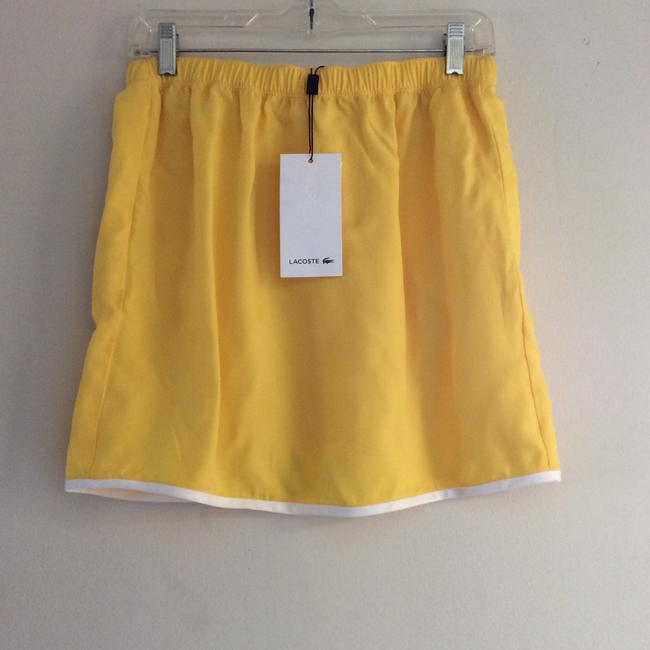 Lacoste Mini Skirt Yellow