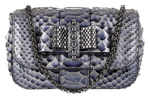 Christian Louboutin Sweet Charity Python Shoulder Bag