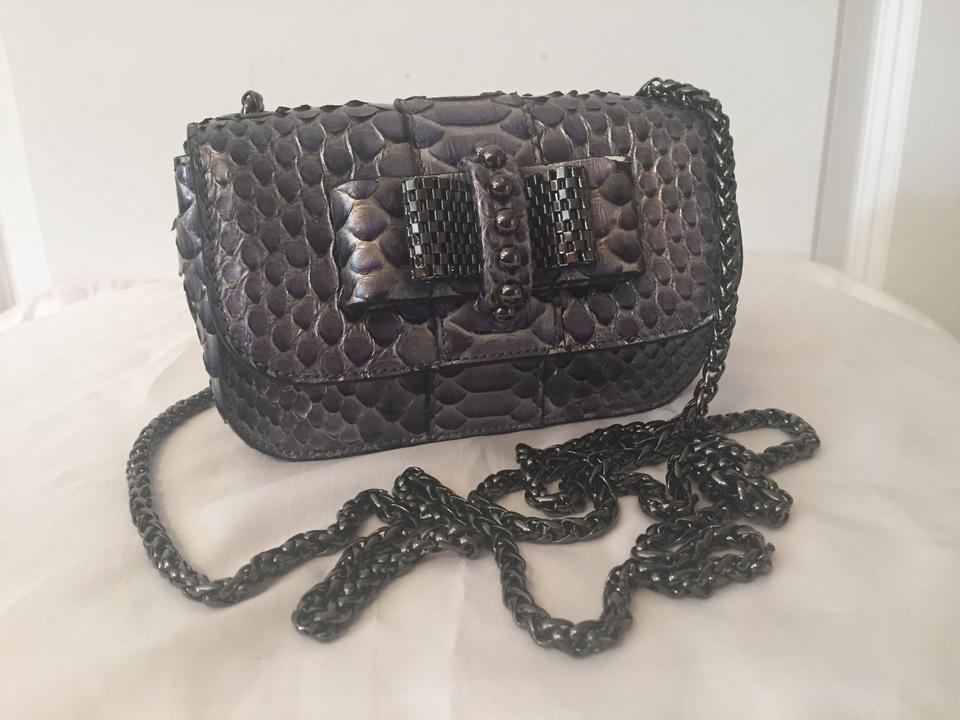 prada python shoulder bag