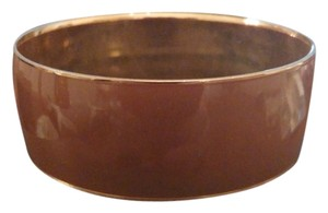 J.Crew J Crew Cocoa Wide Classic Bangle