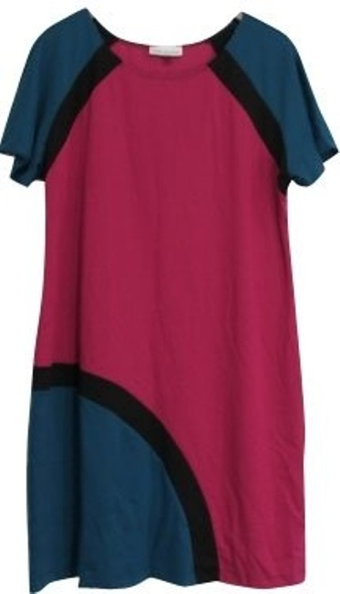 Preload https://item1.tradesy.com/images/jay-godfrey-pink-blue-and-black-night-out-dress-size-6-s-525-0-0.jpg?width=400&height=650