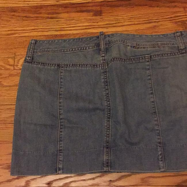 Gap Mini Skirt Med denim