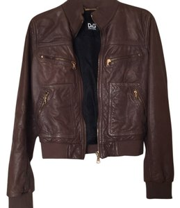 Dolce&Gabbana Leather Jacket