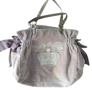 Juicy Couture Beige Diaper Bag