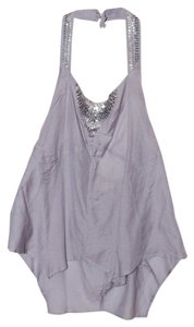 American Eagle Outfitters Gray Halter Top