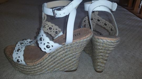 Guess By Marciano White Wedges