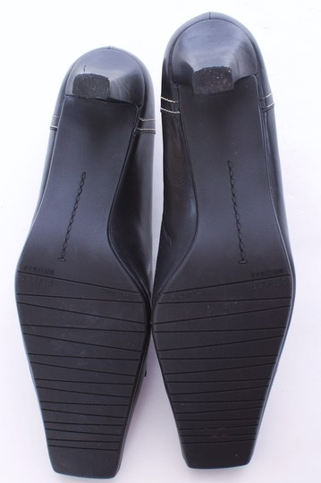 Stuart Weitzman Leather BLACK Pumps