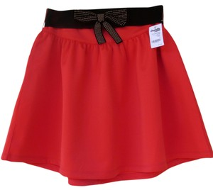 Charlotte Russe New Nwt New With Tags Mini Skirt coral, black