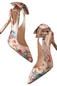 BHLDN pastel floral print Pumps