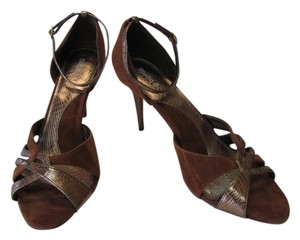 Studio 8 New Excellent Condition Brown, Bronze Pumps