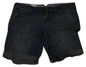 Gap Cuffed Shorts Dark denim