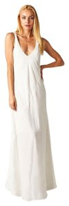 Ivory Maxi Dress by Love Stitch Beach Wedding Maxi V-neck Sleeveless Vacation Beach
