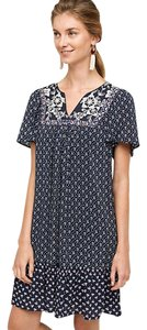 Anthropologie short dress Navy Tiny Anthro Lace Marguerite on Tradesy