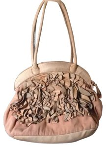 Miss Albright Satchel in Taupe/pinkish Tan
