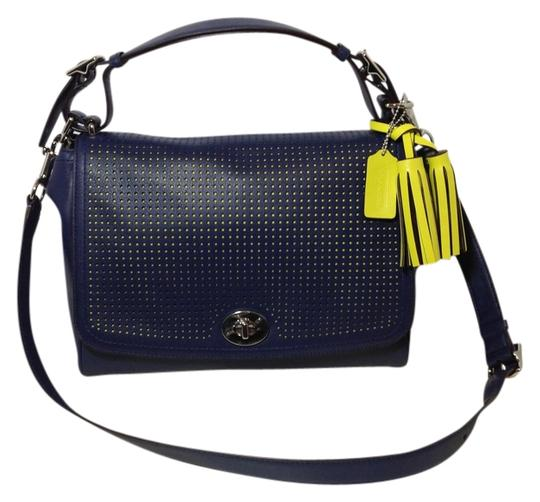 Coach Legacy Convertible Perforated Classic Romy Tophandle Shoulder Bag