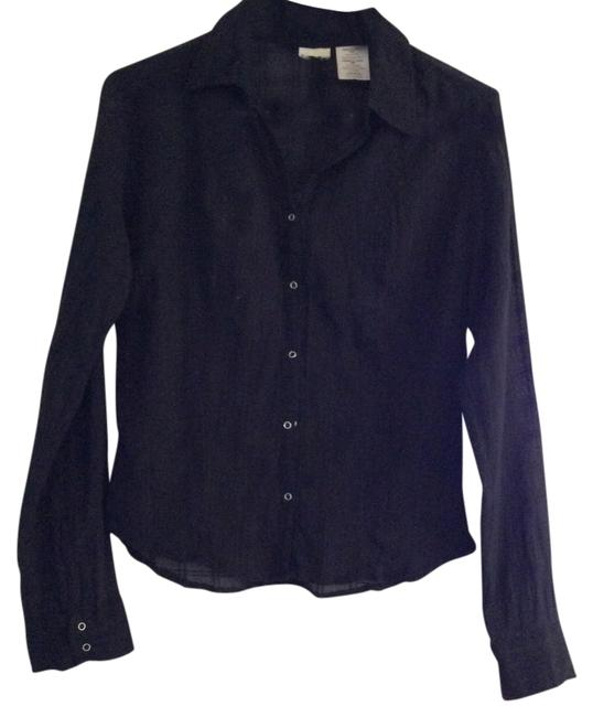 Other Button Down Shirt Black
