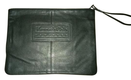 Preload https://item1.tradesy.com/images/kenneth-cole-black-zippered-leather-pouch-5251840-0-0.jpg?width=440&height=440