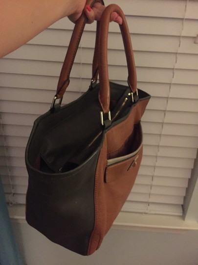 Marc by Marc Jacobs Tote in Camel/Green
