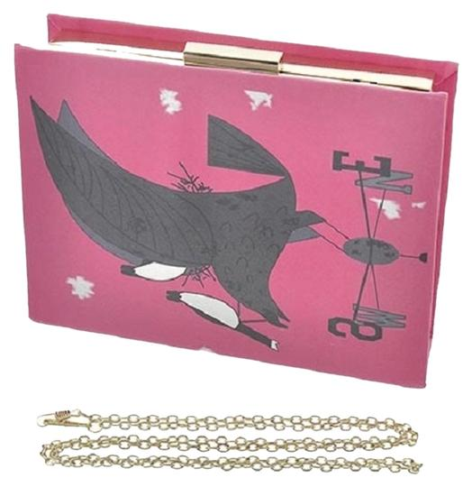 Preload https://item2.tradesy.com/images/hot-party-book-shape-cartoon-printed-evening-pink-pu-leather-and-metal-clutch-5251981-0-0.jpg?width=440&height=440